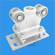 ZAB-S Laufwagen (Code:R-5M-50/55) Laufrolle Profilmaße:50x55x2,5 Gartentor Schiebetor Rolltor (R-5M-50/55)