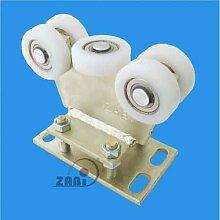 ZAB-S Laufwagen (Code:R-5T-80M) Laufrolle Profilmaße:80x80x5 Gartentor Schiebetor Rolltor (R-5T-80M)
