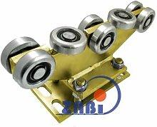 ZAB-S Laufwagen (Code:R-8MM-70) Laufrolle Profilmaße:70x70x4 Gartentor Schiebetor Rolltor (R-8MM-70)