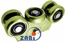 ZAB-S Laufwagen (Code:WG-5MM-80) Laufrolle