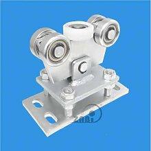 ZAB-S Laufwagen (Code:WR-5M-50/55) Laufrolle Profilmaße:50x55x2,5 Gartentor Schiebetor Rolltor (WR-5M-50/55)