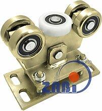 ZAB-S Laufwagen (Code:WR-5M-80/4) Laufrolle Profilmaße:80x80x4 Gartentor Schiebetor Rolltor (WR-5M-80/4)