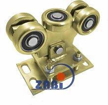 ZAB-S Laufwagen (Code:WR-5MM-80) Laufrolle Profilmaße:80x80x5 Gartentor Schiebetor Rolltor (WR-5MM-80)