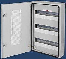Zählerschrank 48 Sicherungen Sicherungskasten stahlverzinkt Aufputz Aufputzverteiler Stromverteiler Wasserdich