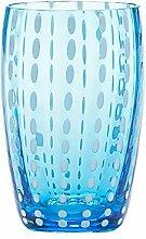 Zafferano-Perle Set 6Gläser Tumbler Wasser