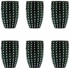 Zafferano Perle Glasbecher-Handgemachtes