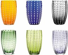 Zafferano Perle Glasbecher - Handgemachtes