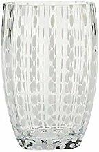 Zafferano Perle Tumbler trasparentes Wasserglas