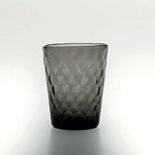 Zafferano Set 6 Balloton Tumbler Wasserglas Grau