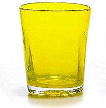 Zafferano Set 6 Tumbler Wasserglas Gelb