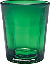 Zafferano Set 6 Tumbler Wasserglas grün