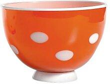 Zafferano-Tasse Bon Bon orange-weiß