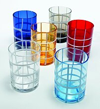 Zafferano - Twiddle Set 6 brille tumbler mix