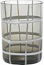 Zafferano TwiddleTumbler Wasserglas grau