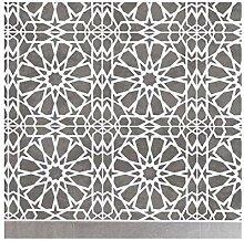 ZAGORA FLIESE Wand Möbel Fußboden Schablone für