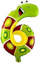 Zahlen Folienballon in in 40 80 und 100 cm