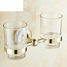 Zahnbürste/Becher/ Pinsel Tasse/ Glas Doppelbecherhalter