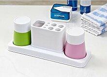 Zahnbürste/Becher-set/Bürsten Tasse/ Kunststoffbecher Wasch-C