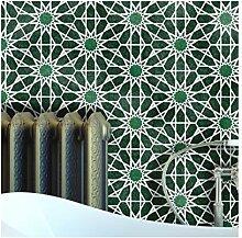ZAIDA Hexagon Fliese Wand Möbel Schablone für