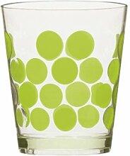 zak Designs 0989–0045Dot Dot Glas grün kiwi 42cl