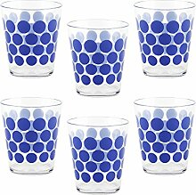 Zak Designs 2317-0040-iset Kunststoff-Becher, Blau
