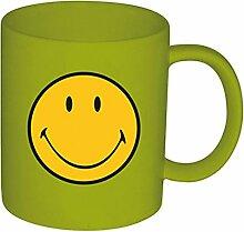 Zak Designs 6187-1590 Smiley Klassik Becher grün 35 cl