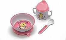 Zak designs 6706-3380  Smiley Baby Geschirr 3-er