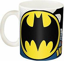 Zak! Designs Ceramic Mug with Batman Graphics, 11.5 oz. by Zak Designs