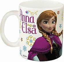 Zak! Designs Ceramic Mug with Elsa and Anna from