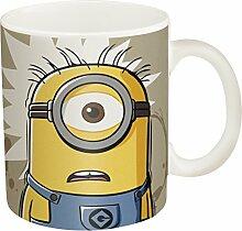 Zak! Designs Ceramic Mug with Minions I Need Coffee Graphics, 11.5 oz. by Zak Designs