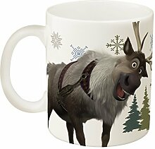 Zak! Designs Ceramic Mug with Olaf and Sven from