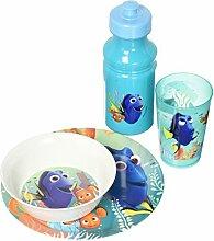 zak Designs drya-5490finden Dory Blitz plate-bowl-tumbler-bottle 4-teilig, multicolor