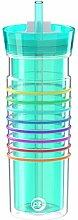 Zak!Designs hydratrak isolierter Becher mit