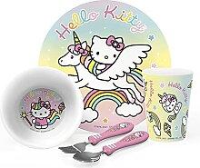 Zak Designs Sanrio Hello Kitty Kindergeschirr-Set