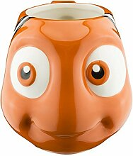 Zak! Designs Sculpted Ceramic Mug BPA-Free Finding Dory Collectable in Shape of Nemo by Zak Designs