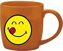 Zak Designs Tasse Kaffee Porzellan 20cl, korallenro