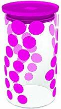 Zak Designs ZAK Dot Dot Vorratsdose 96 x H 180-1,1 lt fuchsia