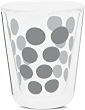 zak! Dot Dot doppelwand Glas 20 cl & Löffel 4-er