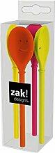 ZAK Happy Löffel 11,5 cm, 4-er Set, hot pop