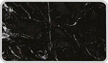 ZAK Osmos Servierbrett schwarz Marmor/weiss 28x20cm