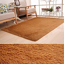 ZAK168 Großer flauschiger Teppich aus Plüsch, 80