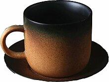 Zakka Art-mattes Paar Kaffeehaferl Kreative