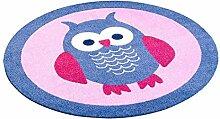Zala Living 101941 Kinderteppich rund für