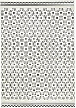 Zala Living Cubic Designer Velours Teppich