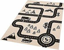 Zala Living Road Map Charly Kinder-/spielteppich,