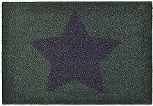 Zala Living Stern Grau Lila 50x70 cm Fußmatte