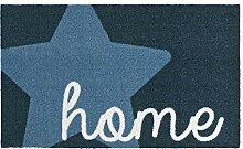 Zala Living Stern Home Blau 50x70 cm Fußmatte