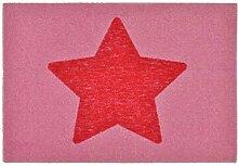 Zala Living Stern Rosa 50x70 cm Fußmatte
