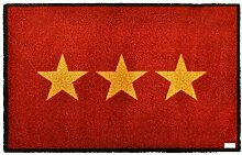 Zala Living Stern Rot Fußmatte Schmutzfangmatte