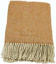 Zaloop Wolldecke 100% Schurwolle in versch. Farben
